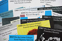 Mostra bibliográfica: biblioteca Xosé Neira Vilas