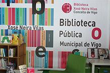 Feira do libro Biblioteca Pública Municipal Xosé Neira Vilas