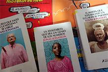 Mostra bibliográfica:Contra o Blue Monday... Móndaite de risa! Biblioteca Neira Vilas