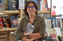 Encontro coa escritora Eva Mejuto Biblioteca Xosé Neira Vilas